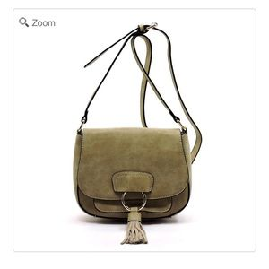Handbags - NEW Tassel Flap Saddle Crossbody Bag